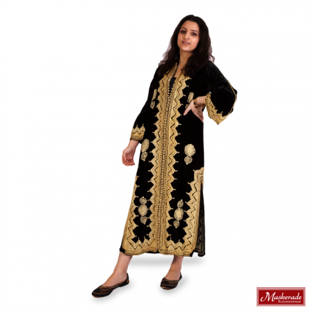Arabisch kostuum zwarte jurk