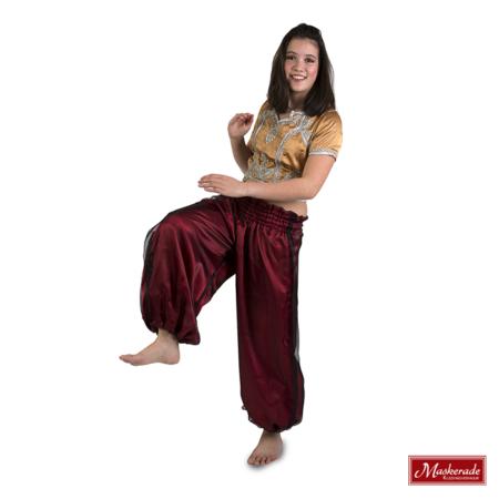Arabisch kostuum met rode broek