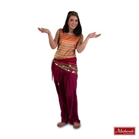 Arabisch kostuum rood
