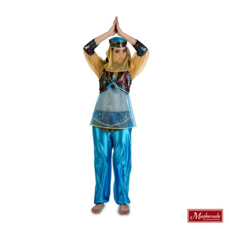 Arabisch kostuum blauw