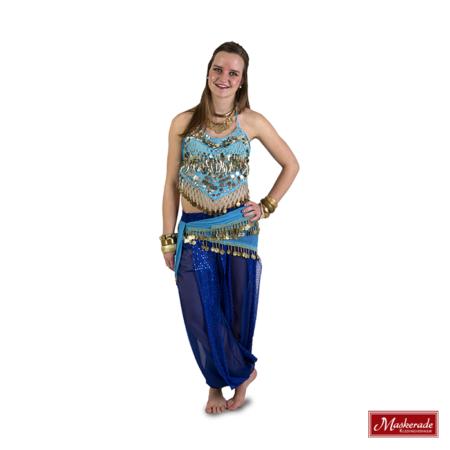 Arabisch kostuum muntentop