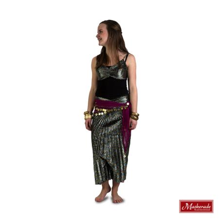 Arabisch kostuum zilver