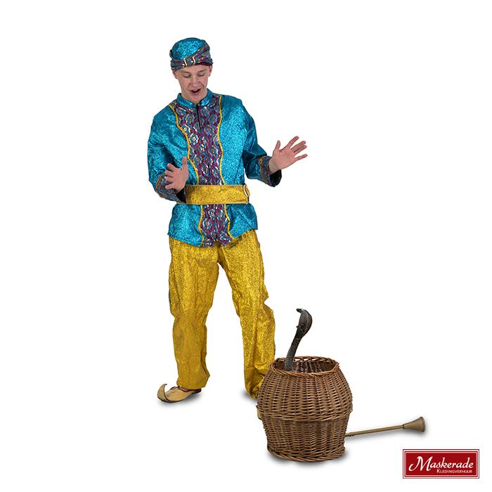 Arabisch kostuum Blauwe glitterhes