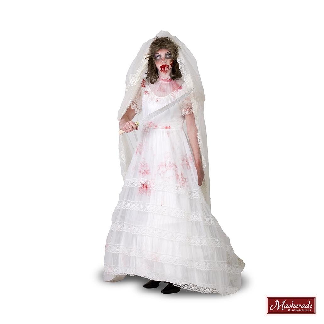 Zombie In Bruidsjurk