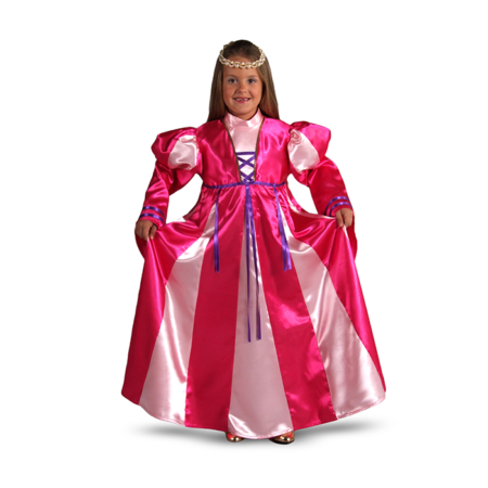 roze prinsessenjurk