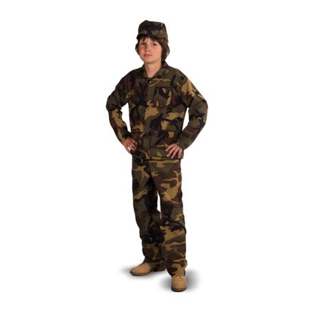 Kinderkleding legerkleding