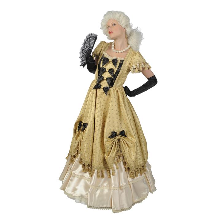 Luxe gouden jurk
