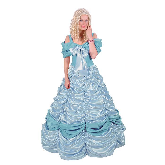 8f5dc3e135cbc5 Sprookjes  Assepoester jurk inclusief hoepelrok huren bij Maskerade ...