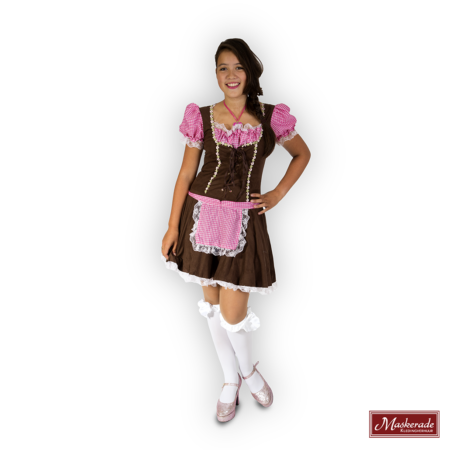roze Oktoberfest dirndl