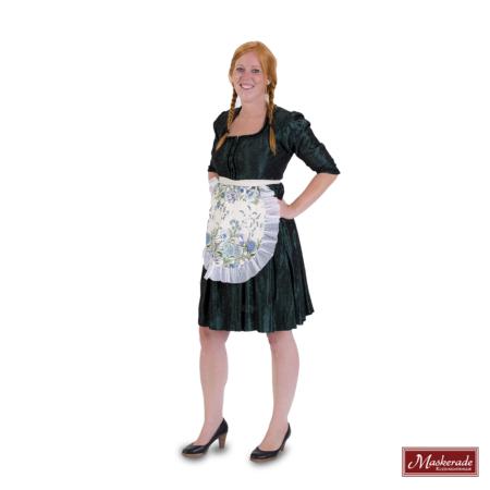 Groene Tiroler jurk