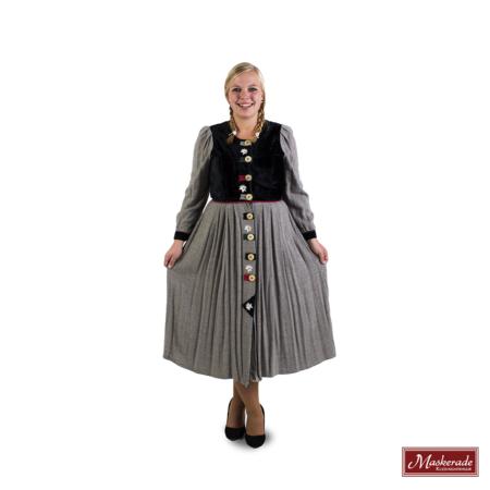 Grijze Tiroler jurk