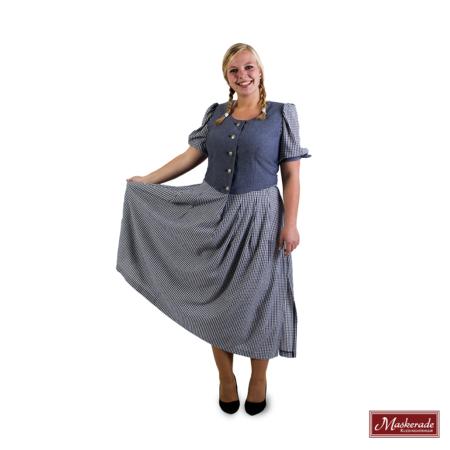 Blauwgrijze Tiroler jurk