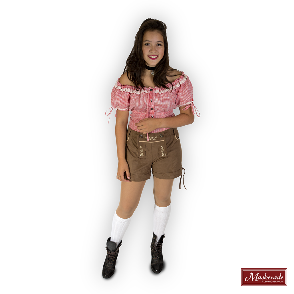Oktoberfest dames lederhose