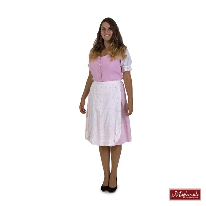Tiroler jurk roze