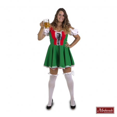 Oktoberfest dirndl rood