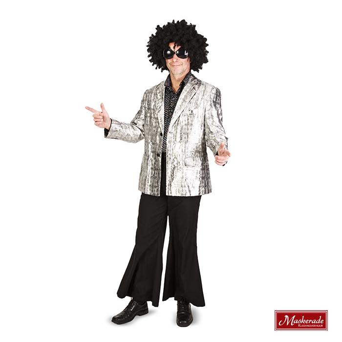 beperkte garantie 100% authentiek Koop Authentiek Zilveren jas, zwarte blouse en zwarte broek
