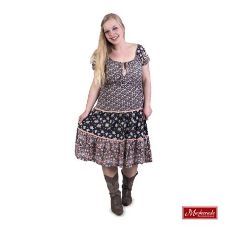 lichtroze hippie jurk