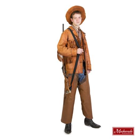 bruin cowboy kostuum