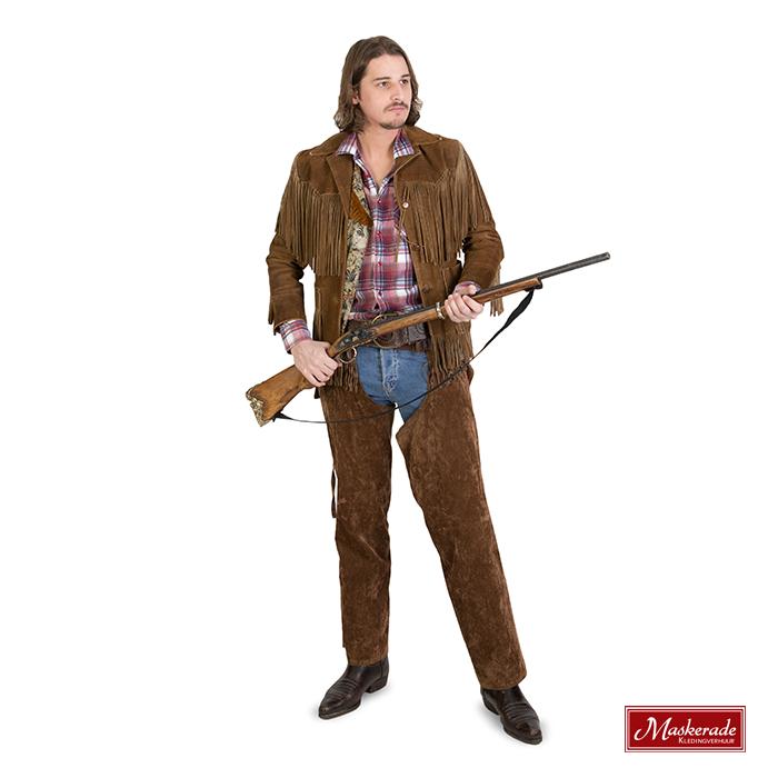 bruine cowboy kostuum